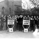 St. Joseph School crossing guards 1950